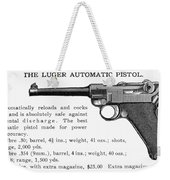 Luger Automatic Pistol Weekender Tote Bag