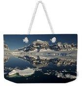 Luigi Peak Wiencke Island Antarctic Weekender Tote Bag by Colin Monteath