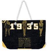 Lullaby Of Broadway Weekender Tote Bag