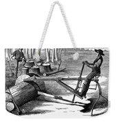 Lumbering: Saw, 1879 Weekender Tote Bag