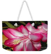 Luminous Cactus Flower Weekender Tote Bag
