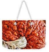 Lumpy Bumpy Weekender Tote Bag