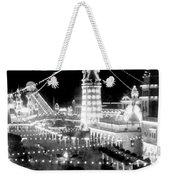 Luna Park - Coney Island - New York At Night - C 1903  Weekender Tote Bag