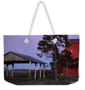 Lunar Eclipse At The Farm Weekender Tote Bag