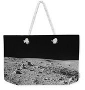 Lunar Surface Weekender Tote Bag