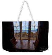 Lunch With A View Weekender Tote Bag