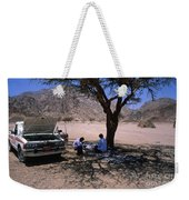 Lunchtime In The Desert Of Sinai Weekender Tote Bag