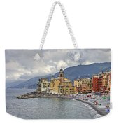 Lungomare In Camogli Weekender Tote Bag by Joana Kruse