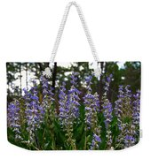 Lupine Patch Weekender Tote Bag