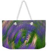 Lupine Swirl Weekender Tote Bag
