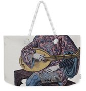 Lute Player, 1839 Weekender Tote Bag
