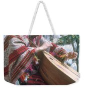 Lute Player Weekender Tote Bag by Photo Researchers, Inc.