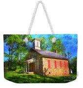 Lutz-franklin Schoolhouse Weekender Tote Bag by Paul Ward