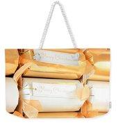 Luxury Christmas Crackers Weekender Tote Bag