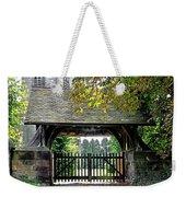 Lychgate To St Paul's Church - Scropton Weekender Tote Bag