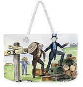 M. Van Buren: Cartoon, 1840 Weekender Tote Bag