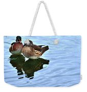 Ma And Pa Wood Duck Weekender Tote Bag