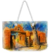 Mabel's Gate Watercolor Weekender Tote Bag