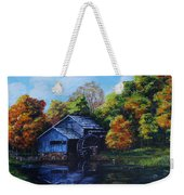 Mabry Mill In Autumn Weekender Tote Bag