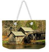 Mabry Mill In Winter Weekender Tote Bag