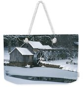 Mabry Mill Winter Weekender Tote Bag