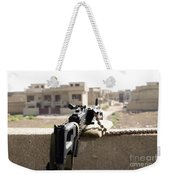 Machine Gun Post At A Prison Weekender Tote Bag