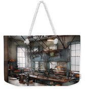 Machinist - Steampunk - The Contraption Room Weekender Tote Bag