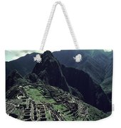 Machu Picchu, A Pre-columian Inca Ruin Weekender Tote Bag