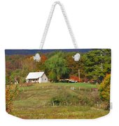 Mack's Farm In The Fall 2 Filtered Weekender Tote Bag