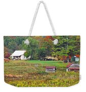 Mack's Farm In The Fall Weekender Tote Bag