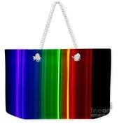 Macro Bromine Spectra Weekender Tote Bag