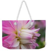 Macro Flower Profile Weekender Tote Bag
