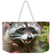Mad Raccoon Weekender Tote Bag