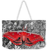 Madam Moth - Red White And Black Weekender Tote Bag