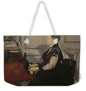 Madame Manet At The Piano Weekender Tote Bag