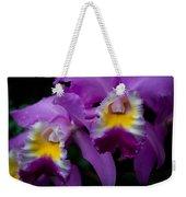 Maddie's Orchid Weekender Tote Bag
