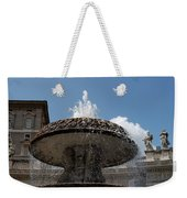 Maderno's Fountain Weekender Tote Bag