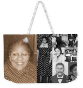 Madge's Mother And Grandfather Weekender Tote Bag