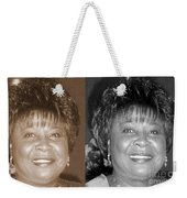Madge's Sister Aunt Shirley Weekender Tote Bag