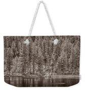 Madison River Yellowstone Bw Weekender Tote Bag