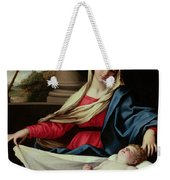 Madonna And Child  Weekender Tote Bag by II Sassoferrato