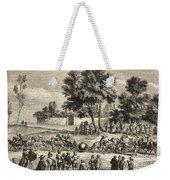 Magdeburg Hemispheres, 17th Century Weekender Tote Bag
