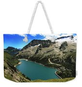 Magic Lake Weekender Tote Bag