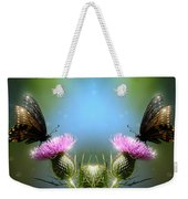 Magical Butterflies Weekender Tote Bag