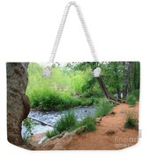 Magical Trees At Red Rock Crossing Weekender Tote Bag