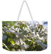 Magical White Flowering Dogwood Blossoms Weekender Tote Bag