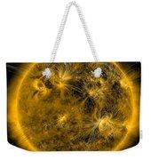 Magnetic Field Lines On The Sun Weekender Tote Bag