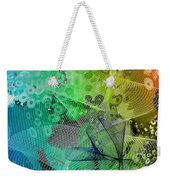 Magnification 5 Weekender Tote Bag by Angelina Vick