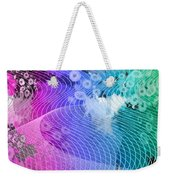 Magnification 6 Weekender Tote Bag by Angelina Vick