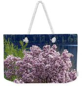 Magnolia By The Lake Weekender Tote Bag